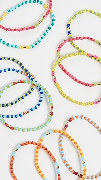 Roxanne Assoulin 拼接 - 12 件手链