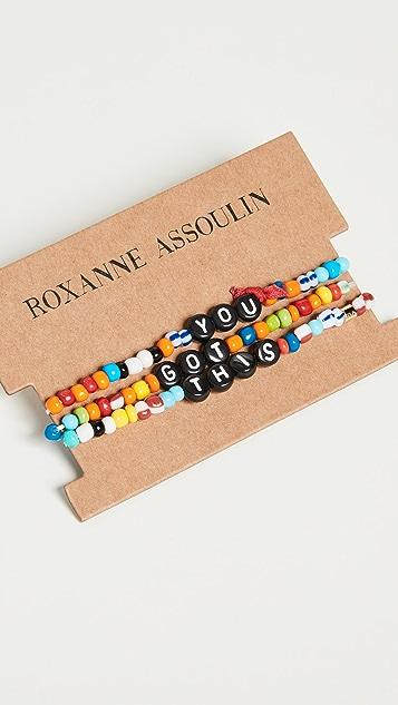 Roxanne Assoulin Camp 手链 - You Got This