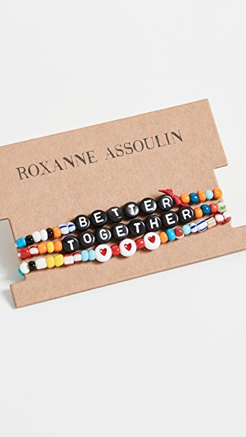 Roxanne Assoulin Better Together Camp 手链