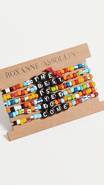 Roxanne Assoulin The Best Is Yet To Come Camp 手链