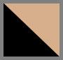 黑色/棕色镜面粉色