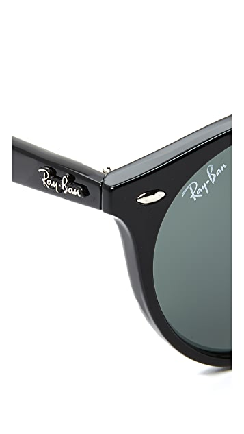 Ray-Ban Round Brow Bar 太阳镜