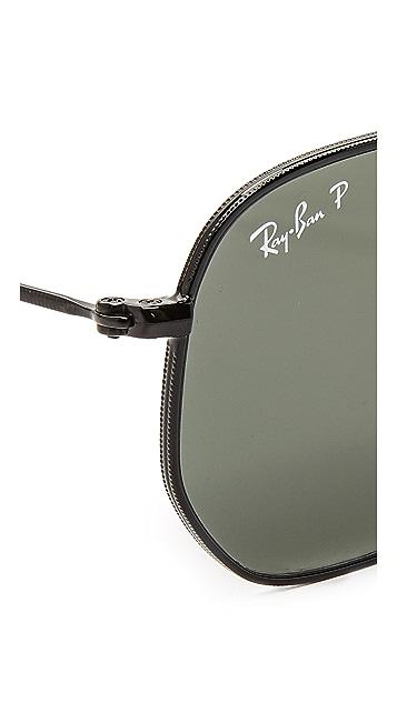 Ray-Ban 六角形偏光太阳镜