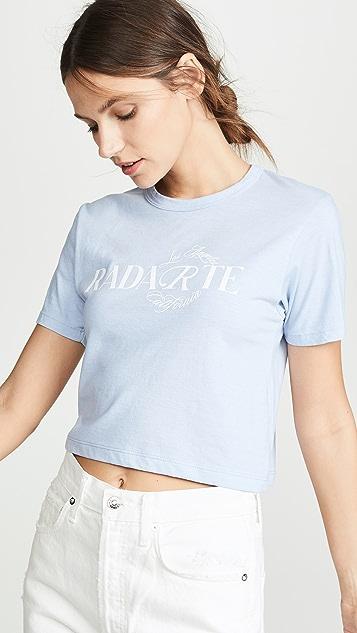 Rodarte Rodarte 短 T 恤