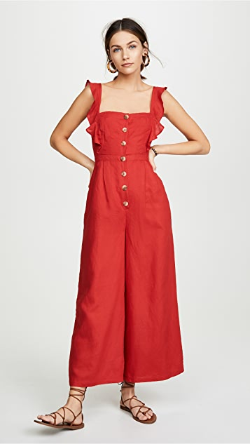 Red Carter Allison 连身衣