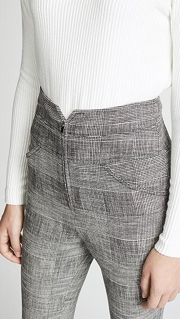 Rebecca Taylor 格子裤子