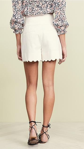 Rebecca Taylor 扇形短裤