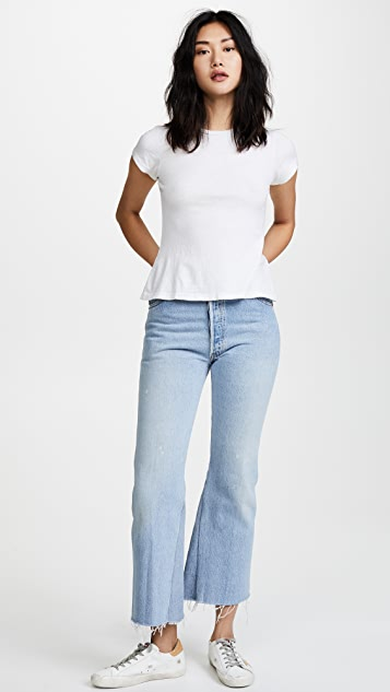 RE/DONE x Hanes 1960s 修身 T 恤