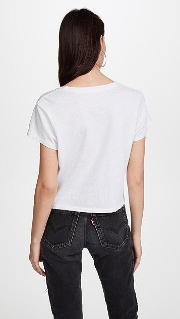 RE/DONE x Hanes 1950s 方形短 T 恤