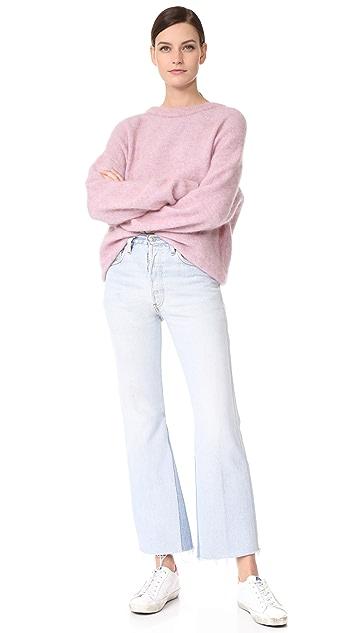 RE/DONE x Levi's 高腰九分喇叭牛仔裤