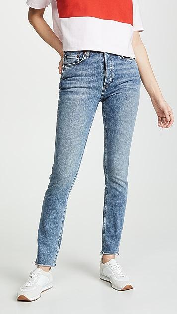 RE/DONE 双针脚牛仔裤