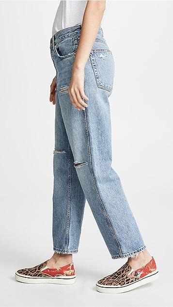 RE/DONE 低裆牛仔裤