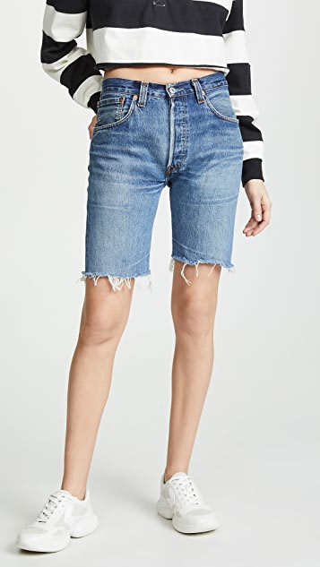 RE/DONE 长款短裤
