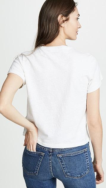 RE/DONE Shine 经典 T 恤