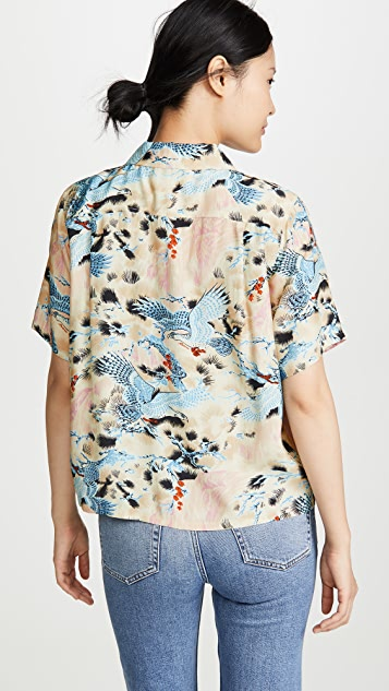 RE/DONE 夏威夷风情衬衣