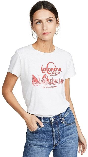 RE/DONE La Concha Motel 经典 T 恤