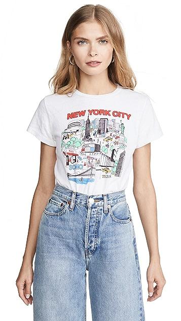 RE/DONE 纽约市经典 T 恤