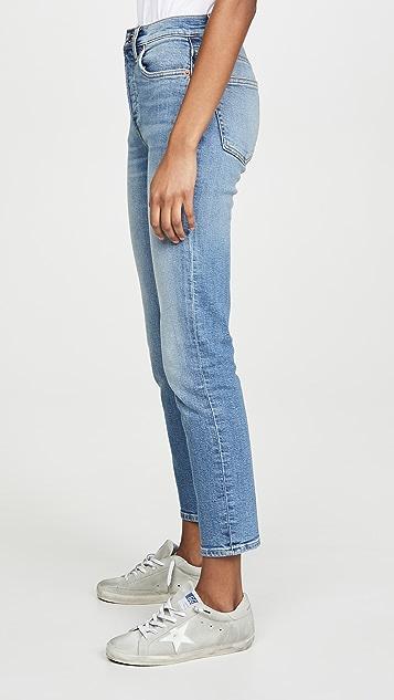 RE/DONE 高腰九分裤