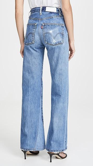 RE/DONE 70 年代复古高腰喇叭裤