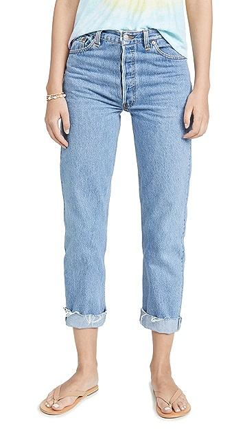 RE/DONE 90s 宽松直筒牛仔裤