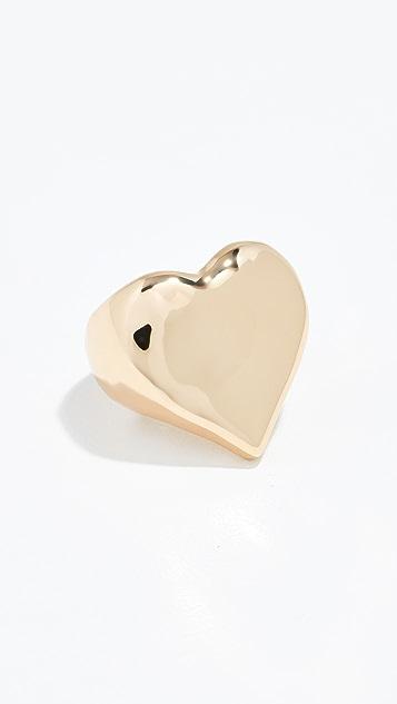 Reliquia Heart Of Gold 戒指