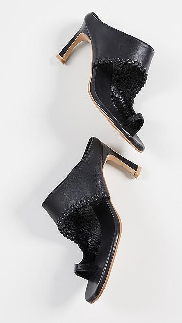 Reike Nen Turnover 不对称凉鞋