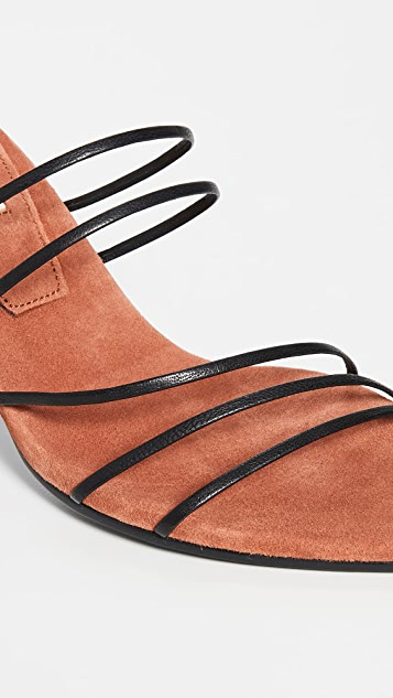 Reike Nen 五系带尖头凉鞋