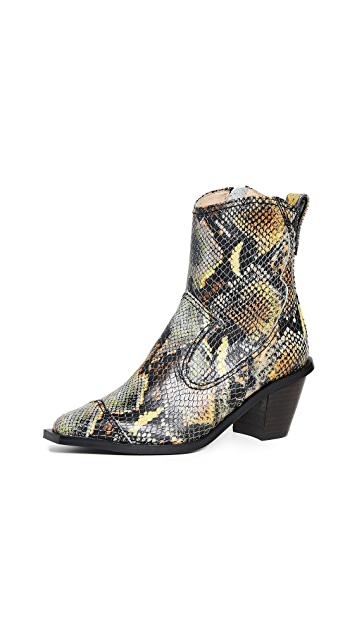 Reike Nen 西部风格高筒靴