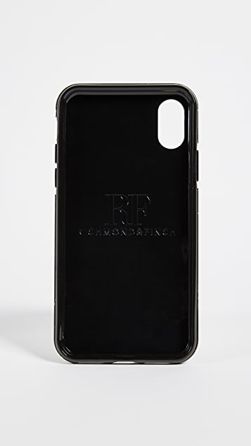 Richmond & Finch 黑色大理石纹 iPhone 手机壳
