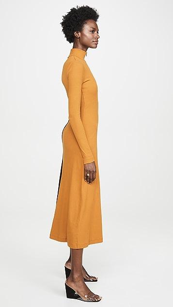 Rosetta Getty 长袖高领连衣裙