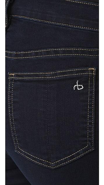 Rag & Bone/JEAN 九分喇叭牛仔裤