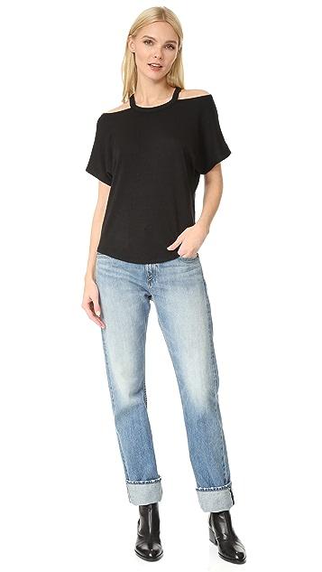 Rag & Bone/JEAN 镂空短袖 T 恤