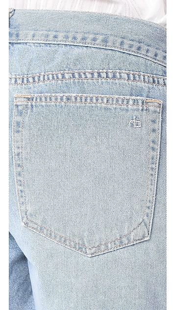 Rag & Bone/JEAN 男孩风短裤