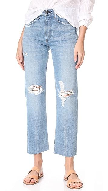 Rag & Bone/JEAN Rigid 直脚牛仔裤