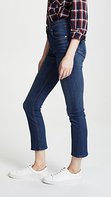 Rag & Bone/JEAN Hana 高腰九分牛仔裤