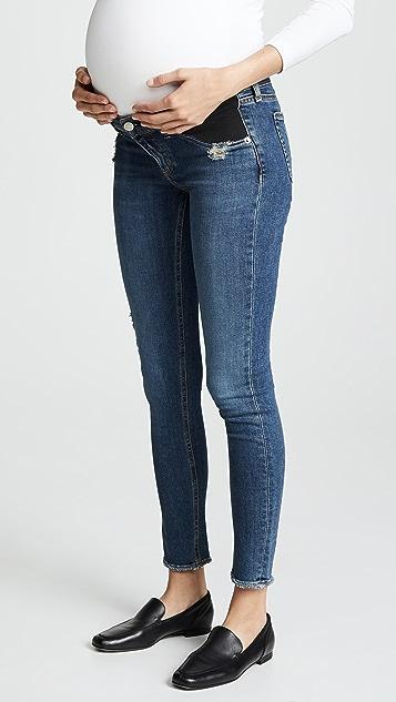 Rag & Bone/JEAN 孕妇紧身牛仔裤