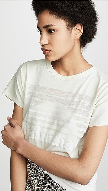 Rag & Bone/JEAN Bahamas 烂花面料 T 恤
