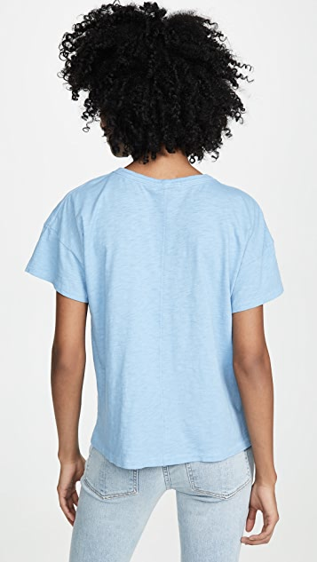 Rag & Bone/JEAN RBNY 复古圆领 T 恤