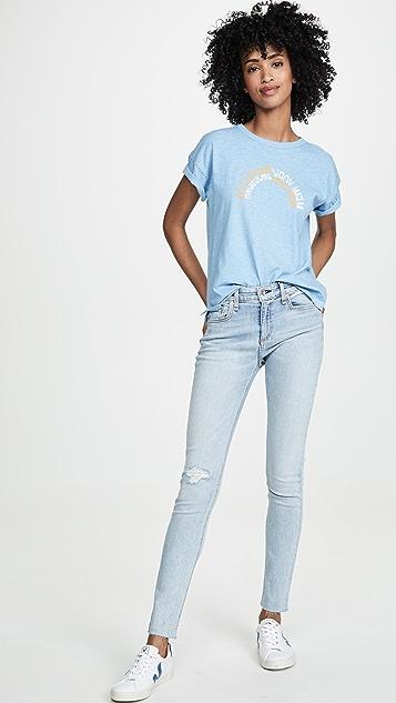 Rag & Bone/JEAN 及踝紧身牛仔裤
