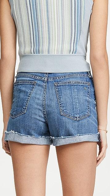 Rag & Bone/JEAN Nina 高腰短裤