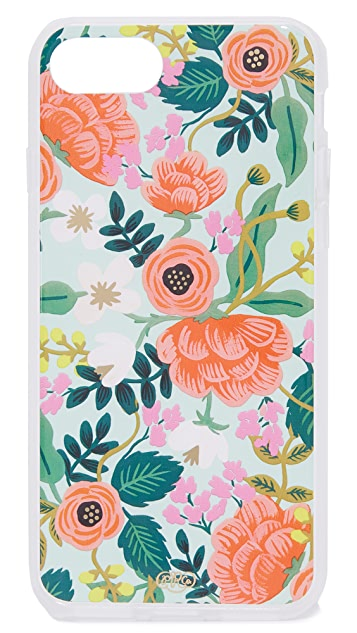 Rifle Paper Co Mint Birch iPhone 7 护套
