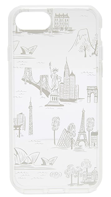 Rifle Paper Co City Toile iPhone 7 护套
