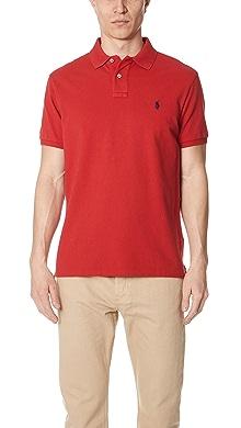 폴로 랄프로렌 반팔 카라티 (슬림핏) 레드 Polo Ralph Lauren Custom Slim Fit Polo Shirt
