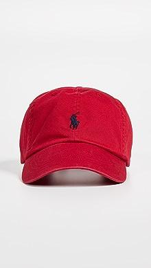 폴로 랄프로렌 클래식 볼캡 레드Polo Ralph Lauren Classic Pony Cap,Red/Blue