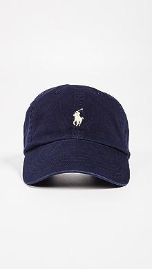 폴로 랄프로렌 클래식 볼캡 네이비 Polo Ralph Lauren Classic Pony Cap,Navy/Yellow