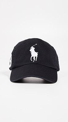 폴로 랄프로렌 빅 볼캡 블랙 Polo Ralph Lauren Big Pony Cap,Black