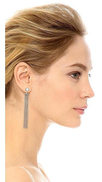 Rebecca Minkoff 流苏前后耳环