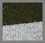 橄榄绿/麻灰条纹
