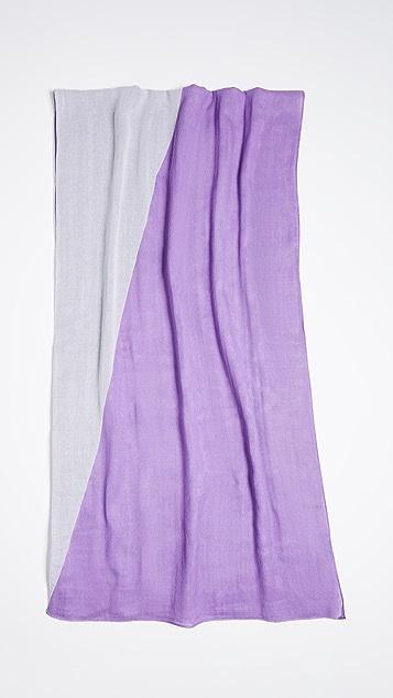 Rebecca Minkoff 染色方形围巾