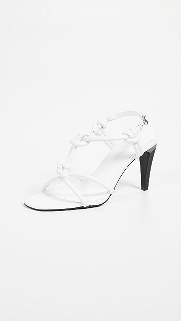 Rebecca Minkoff Laciann T 字带凉鞋